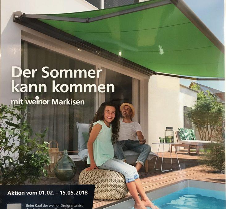 Der Sommer kann kommen – Aktion vom 01.02. – 15.05.2018